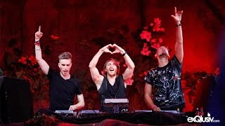 David Guetta ft Nicky Romero Afrojack Locked Out Of Heaven Bruno Mars (Tomorrowland 2013)