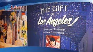與絕症鬥爭,完成百幅作品最終過世,葛兒系列水彩畫展再現洛杉磯生活