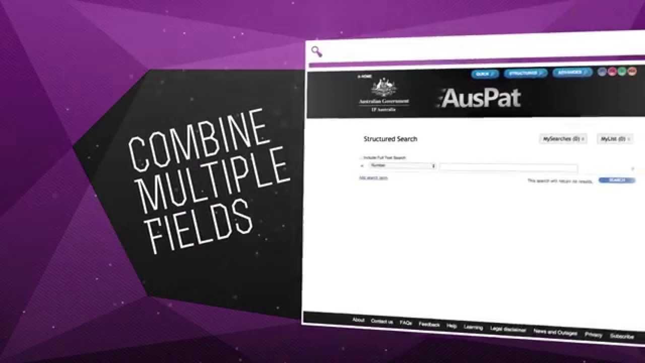 AusPat Quick Search - YouTube
