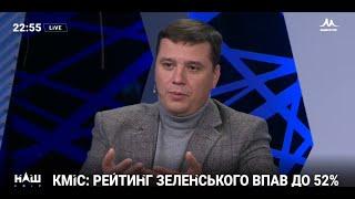 Володимир Пилипенко: Чому падає рейтинг президента, 28.11.2019