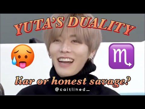 NCT Yuta Funny Scorpio Duality: basically Yuta lying but also being an honest savage