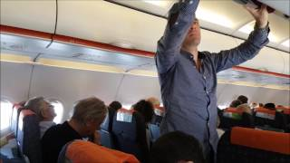 Inside easyJet EZY3251 A320 flying from London Stansted (STN) — Naples (NAP)