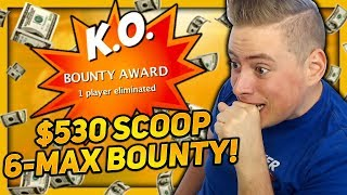 HUGE BOUNTIES AT STAKE!! SCOOP $530 6-MAX PSKO!! | PokerStaples Stream Highlights