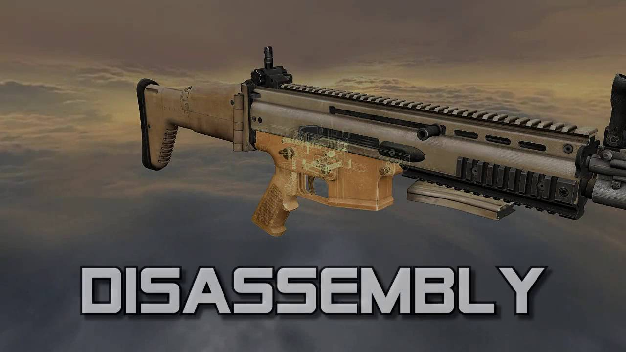 FN SCAR Mk 16 / Mk 17 - Special Forces Combat Assault Rifle