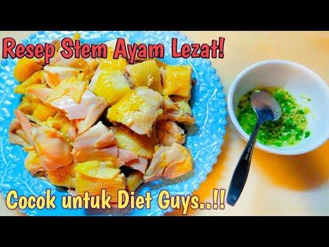resep-stem-ayam(ayam-kukus)||stem-ayam-ala-hongkong||masakan-hongkong-yunie-arum