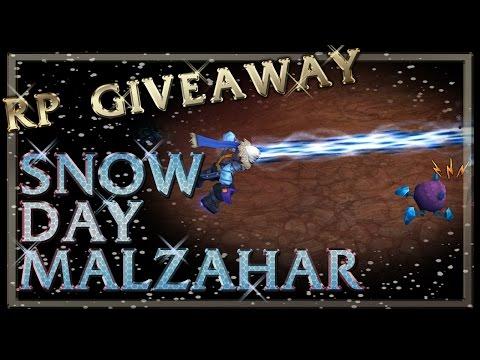 Snow Day Malzahar Skin Spotlight - League of Legends