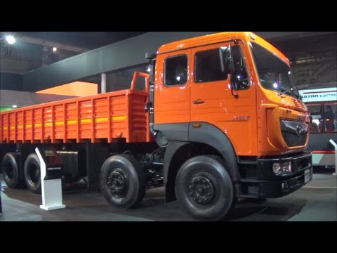 Tata Signa 3118 T Truck Delhi Auto Expo 2016 - YouTube
