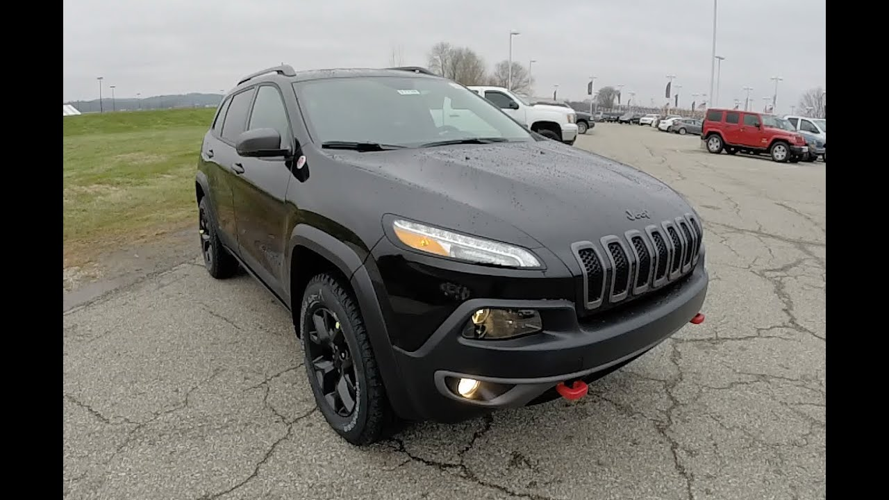 2015 Jeep Cherokee Trailhawk Black