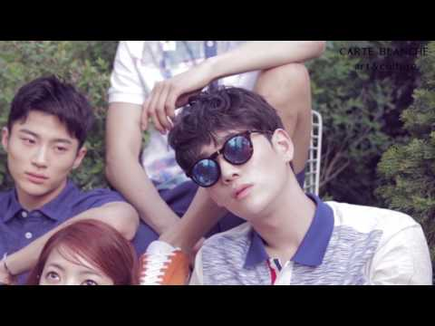 Park Hyeong Seop, Hong Hyo, Ju Hee Jeong, Kim Ki Bum & Byeon Woo Seok - Dazed 'Party, A Day's Dream'