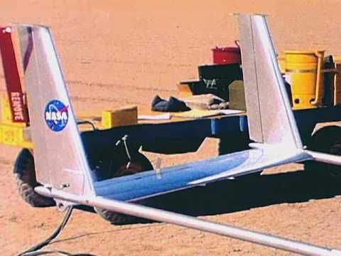 Nasa is releasing its old research videos. Here are nine of the best