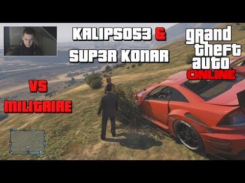 GTA ONLINE - Kalipso & Sup3r Konar Base Militaire
