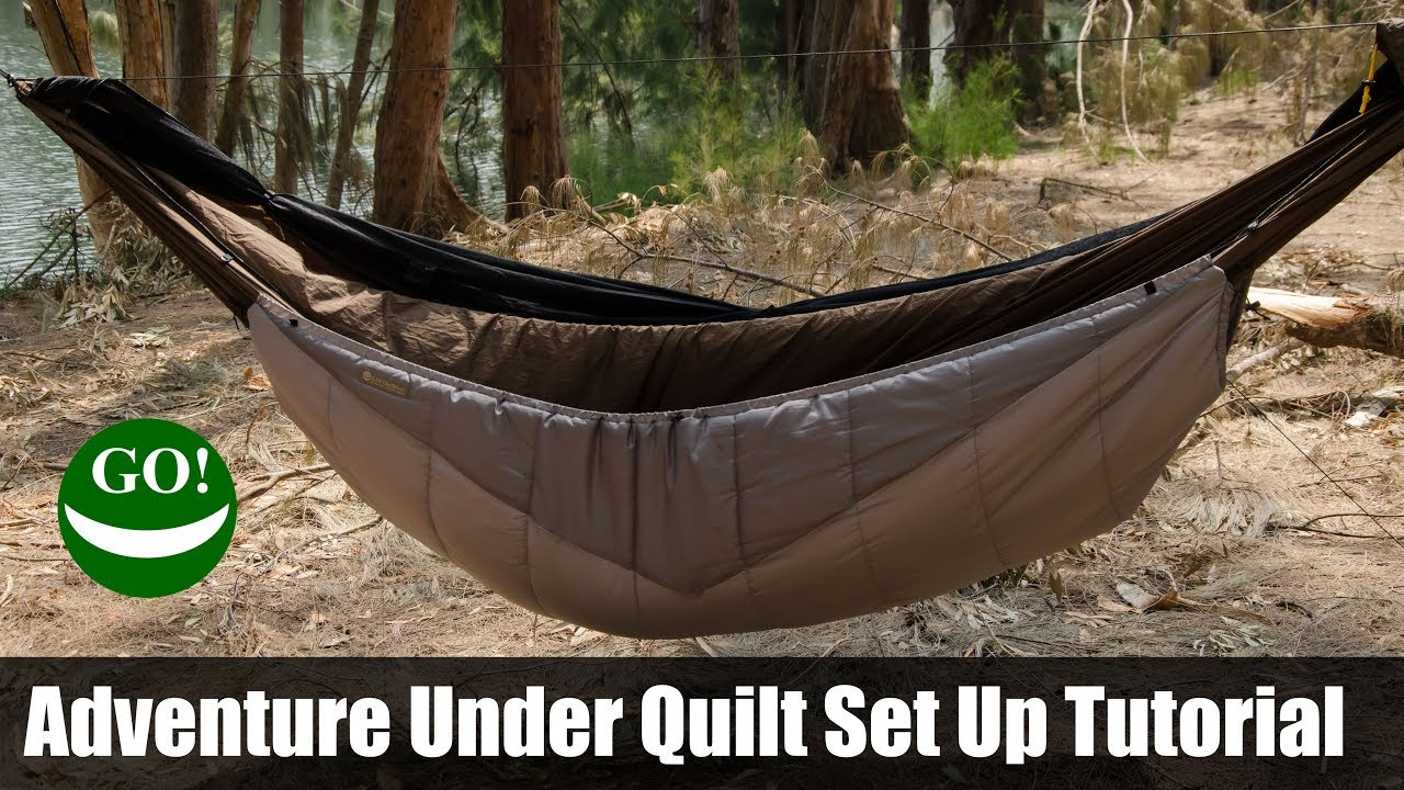 Adventure Under Quilt Tutorial Amazing Hammock Camping Insulation