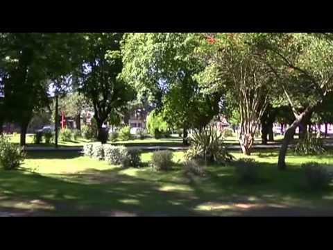 Brandsen - ciudad, iglesia, estación Coronel Brandsen