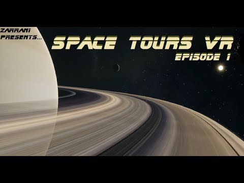 IT'S SO ENORM! Space Tours VR Episode 1: Oculus Rift w/ Touch