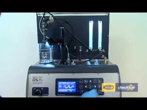 Vizualni Spray test CR brizgaljke