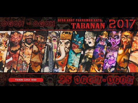 Ogoh Ogoh Tabanan 2017 Movieclip