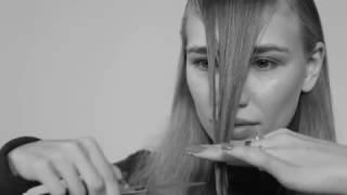 видео Как самостоятельно подстричь челку