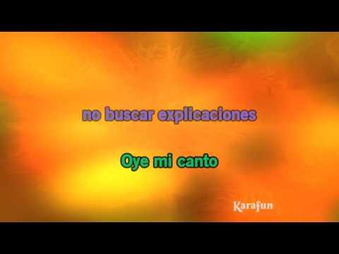 Karaoke Oye Mi Canto - Gloria Estefan *