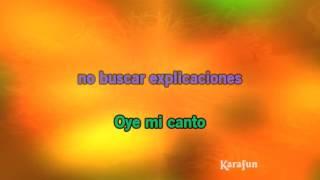 karaoke oye mi canto gloria estefan