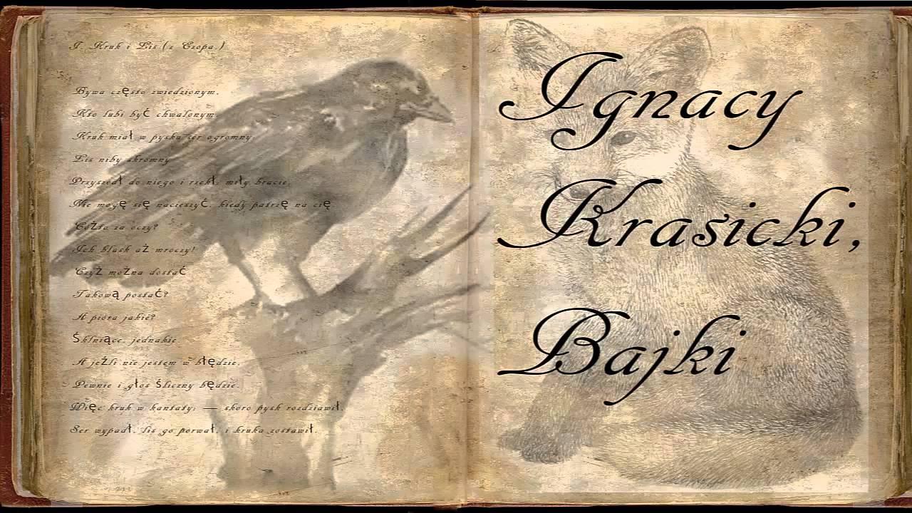 Kruk I Lis Ignacy Krasicki Bajki I Przypowieści