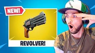 *NEW* LEGENDARY REVOLVER in Fortnite is CRAZY!