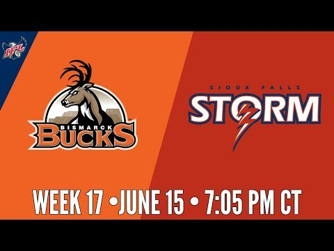 IFL Week 17   Bismarck Bucks at Sioux Falls Storm