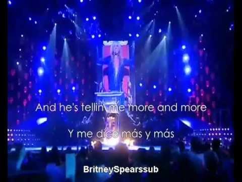 Britney Spears Satisfaction subtitulos español ingles