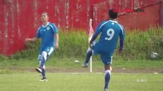 Persib Jalani Sesi Ujicoba Lapangan Di Stadion H. Agus Salim