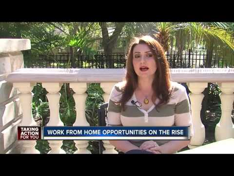 Work From Home Opportunities On The Rise