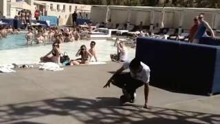 Gettin Down at Wet Republic (BboyUnique , River Darklie, Laurent From Les Twins)