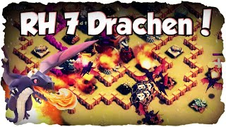 RH 7 Drachen 3 Sterne Taktik! | CLASH OF CLANS #029 | Clankrieg Drachen Angriff! (Deutsch / German)