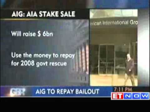 US banking giant AIG to repay bailout to raise 6bn