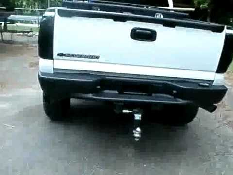 Rear Bumper Black Out Using Plasti Dip On Chevy Silverado