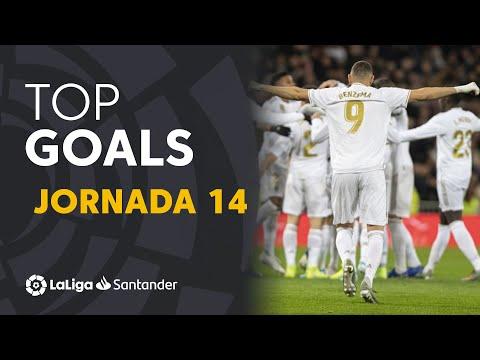 Todos Los Goles De La Jornada 14 De LaLiga Santander 2019/2020