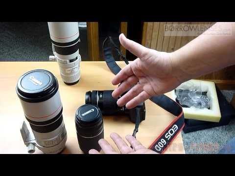 Unboxing From BorrowLenses.com