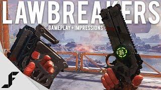 LAWBREAKERS - New Gameplay + Impressions