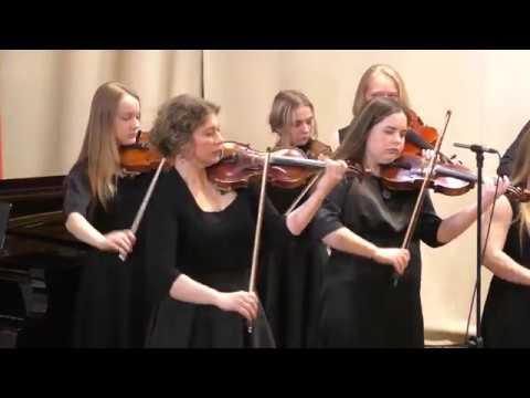 Отчетный концерт - АНСАМБЛЬ СКРИПАЧЕЙ