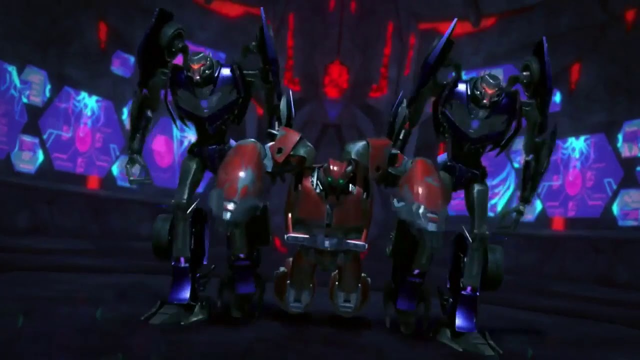 Transformers Prime Season 01  Episode 01 Best Scenes Part 01 In Hindi @Transformers Facts