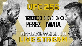 <b>UFC 255</b>: Figueiredo vs. Perez Official Weigh-In Live Stream - MMA ...