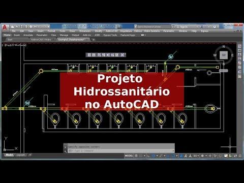 Projeto Hidrossanitario No AutoCAD Com O AditivoCAD 3