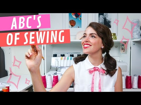 Sewing Tools And Supplies | The ABC's Of SEWING