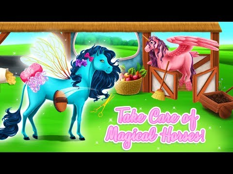 Care for Magical Horses Beauty & Windy - Princess Horse Club 3 - TutoTOONS Cartoons & Games for Kids - 동영상