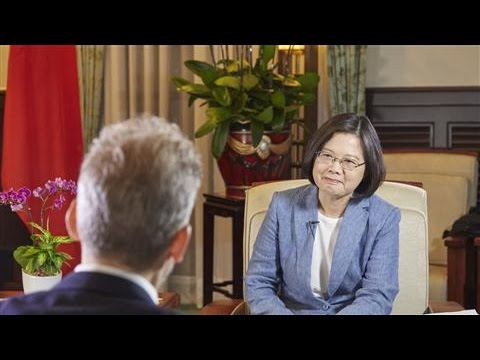 President Tsai: Taiwan Will Not Succumb to China