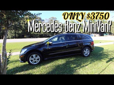 Here's a Mercedes Benz R350 for $3750 ( Is this a MiniVan? ) Walk Around Review