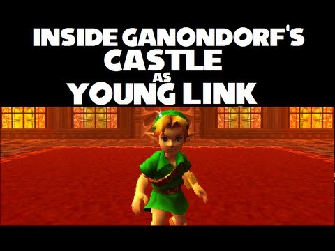 Ocarina of Time 3D Major Glitch #2: How to enter Ganondorf's Castle as Young Link