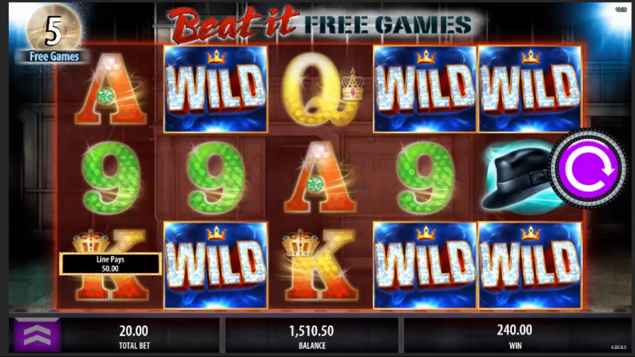 Michael Jackson Slot Machine Big Win