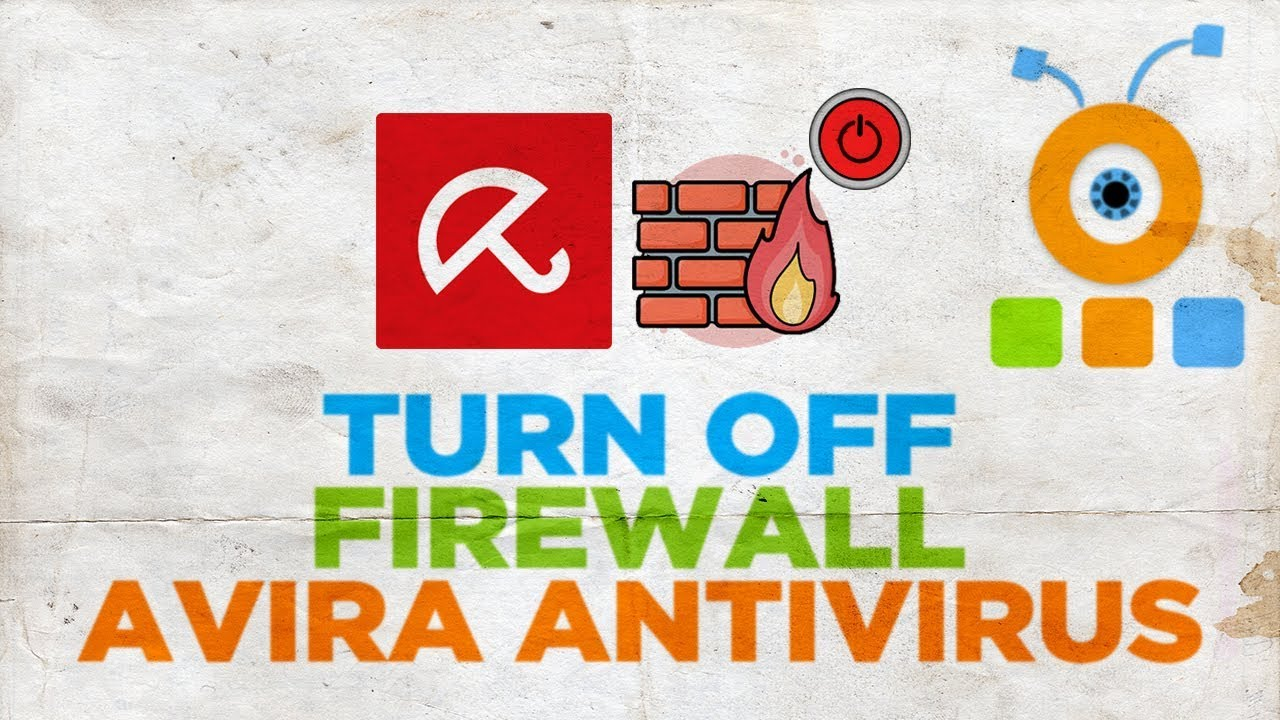 How to Turn Off Firewall Avira Free Antivirus