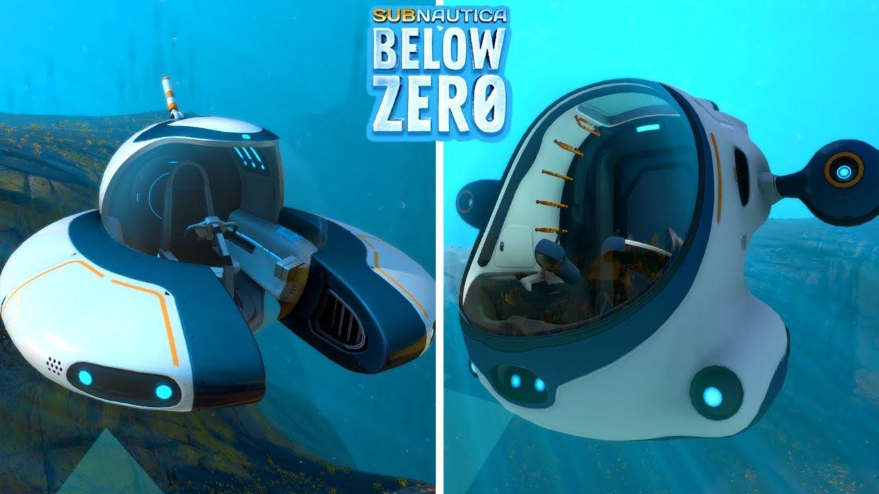 seamoth vs seatruck subnautica
