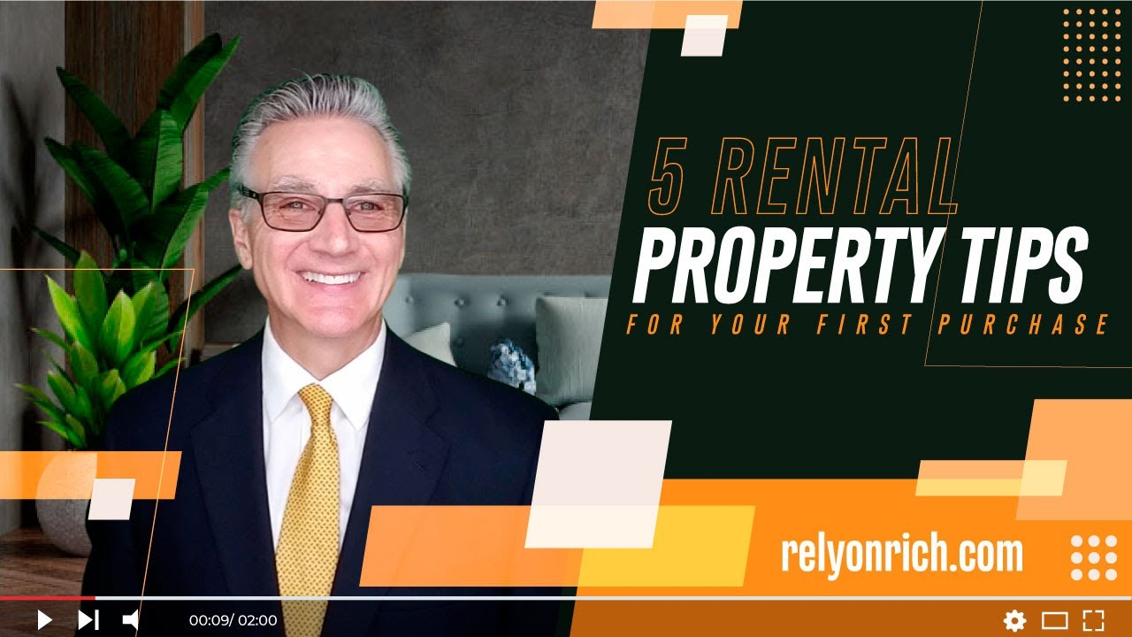 5 rental property tips for your first purchase