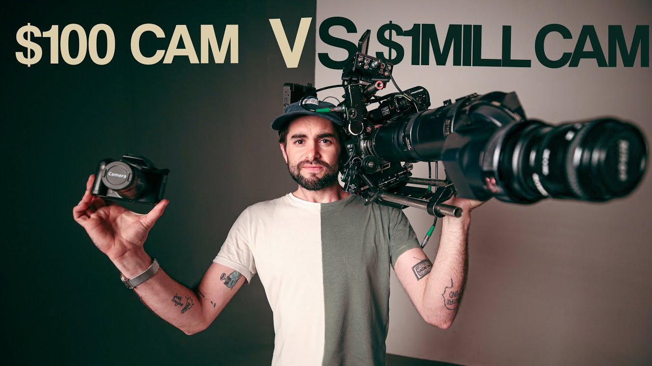 100 Camera vs 1MILLION Camera